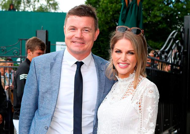 Amy huberman dating brian odriscoll try