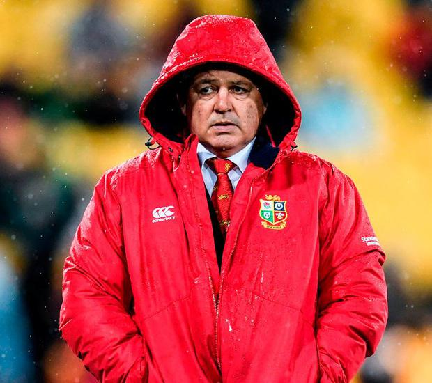British & Irish Lions head coach Warren Gatland. Photo by Stephen McCarthy/Sportsfile