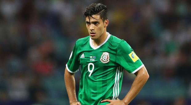 Raul Jimenez represented Mexico at the recent Confederations Cup. Getty