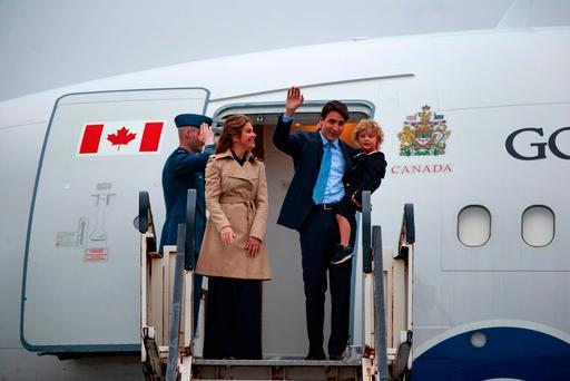 Justin Trudeau takes advantage of the 150th to tout Canada