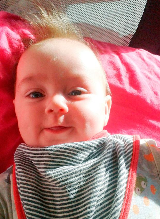 Undated handout photo issued by Avon and Somerset Police of Aya as her father Lee Parker has been found guilty at Bristol Crown Court, of murdering his six-month-old daughter.