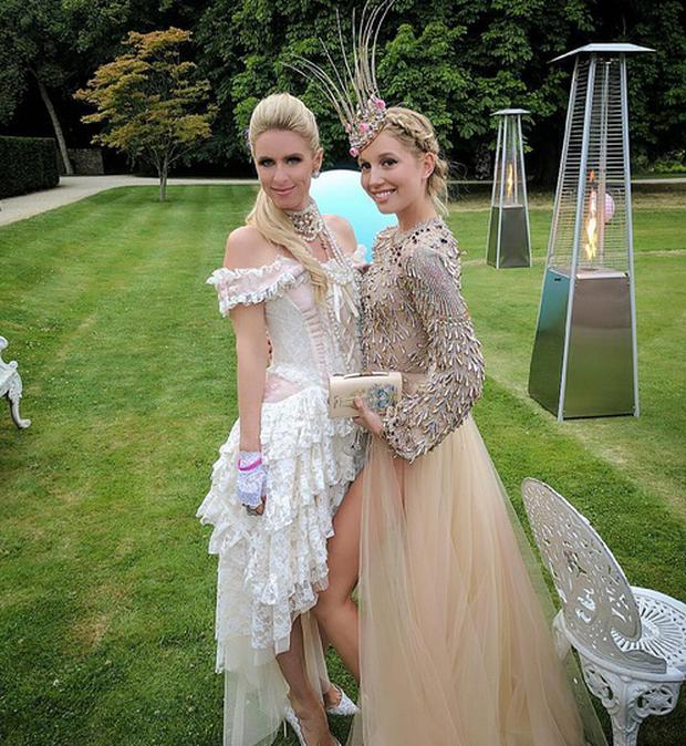 Nicky Hilton with Princess Olympia of Greece. Picture: Instagram