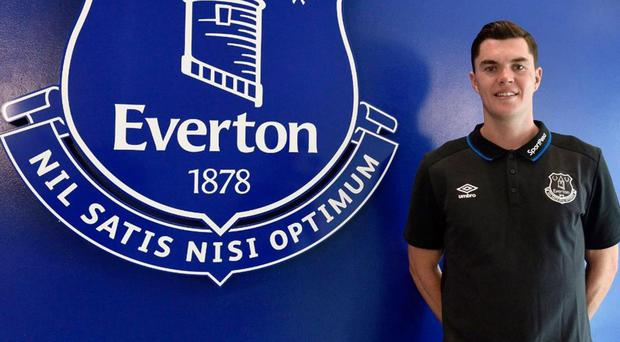 Michael Keane joined Everton in a £30million deal on Monday. @Everton / Twitter