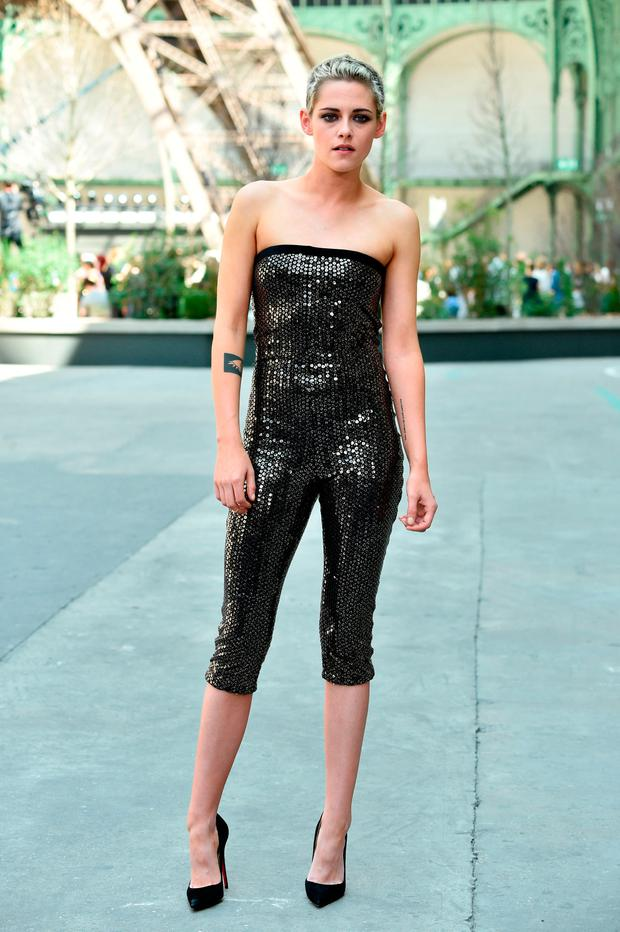 Kristen stewart at paris fashion week 77