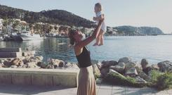 Victoria Azarenka said she had to be away from her child all day CREDIT: INSTAGRAM