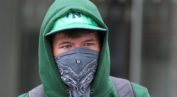 Eoin Berkeley, pictured after he received bail at the Dublin District Court