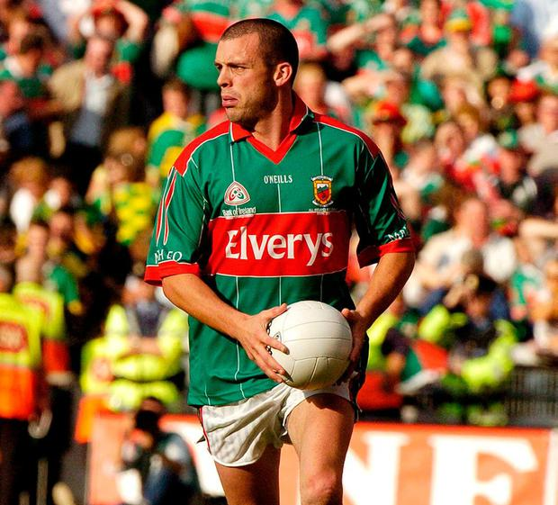 Trevor in the 2006 All-Ireland final against Kerry. Photo: Damien Eagers / Sportsfile