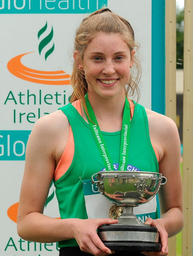 Kate O'Connor. Photo by Sam Barnes/Sportsfile