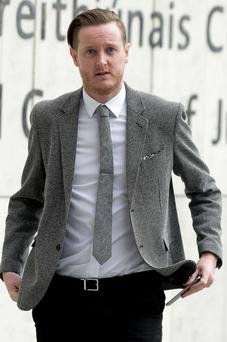 Darren McDermott claims he was assaulted. Picture: Courtpix