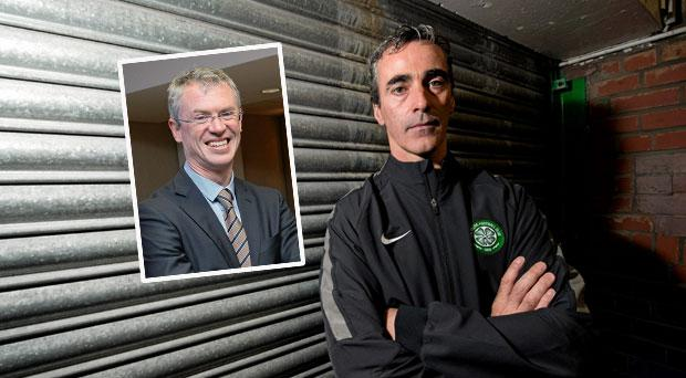 Jim McGuinness has left Celtic for China and (inset) Joe Brolly