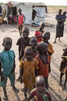 One million children are suffering from moderate to severe malnutrition in South Sudan