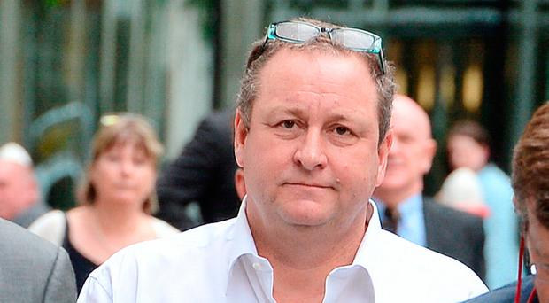 `Power drinker´ Mike Ashley tells judge: I like to get drunk