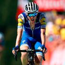 Dan Martin rode in the Tour de France with a broken back