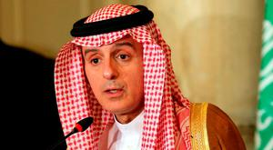 Saudi Foreign Minister Adel al-Jubeir in Cairo. Photo: AFP/Getty Images