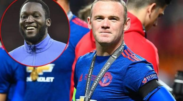 Wayne Rooney and Romelu Lukaku could become involved in transfer musical chairs CREDIT: GETTY IMAGES