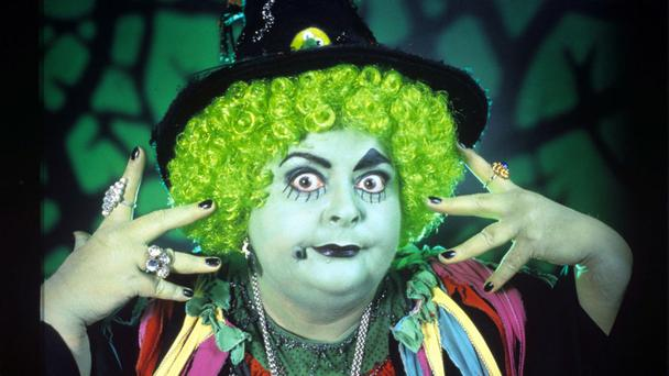 Photo by ITV/REX/Shutterstock - Carol Lee Scott as 'Grotbags' - 1990