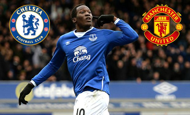 Will Romelu Lukaku end up at Old Trafford or Stamford Bridge?
