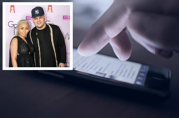 Rob Kardashian shared explicit images of Blac Chyna on Instagram.