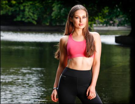 Model and blogger Roz Purcell Photo: David Conachy