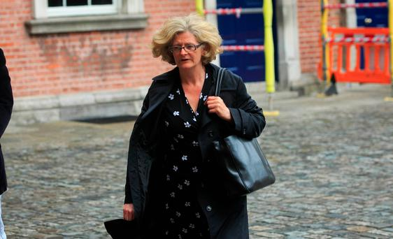 Fiona Ward at the The Disclosures Tribunal in Dublin Castle, Dublin.
