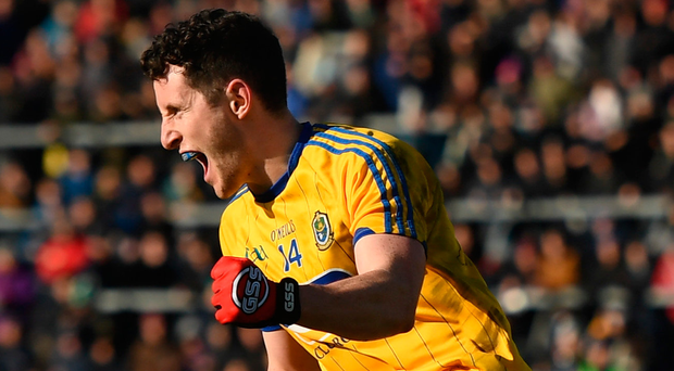 Ciaráin Murtagh is among the Roscommon players hoping to spring a surprise on Sunday. Photo: Sportsfile