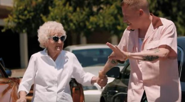 Macklemore and his gran Helen