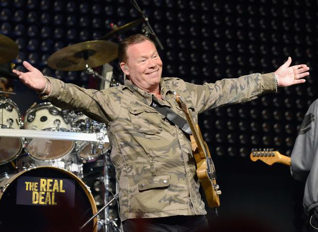 Musician Ali Campbell of UB40 performs on stage during the iHeart80s Party 2017 at SAP Center on January 28, 2017 in San Jose, California. (Photo by Tim Mosenfelder/Getty Images for iHeartMedia)