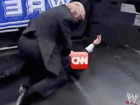 The video of Donald Trump scrapping