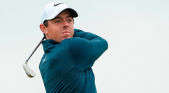 Disappointed: Rory McIlroy. Photo by Oliver McVeigh/Sportsfile