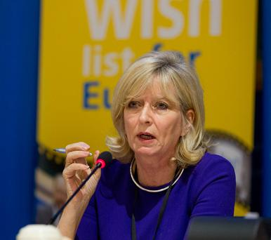 European Ombudsman Emily O'Reilly. Photo: Peter Cavanagh