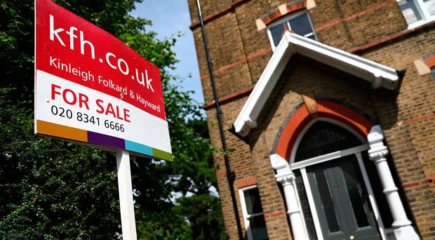 Brexit is being blamed for a massive slump in the housing market in London.