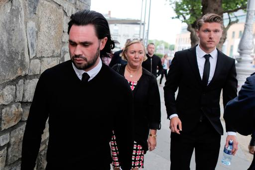Left is Jonathan Doran and, right, Jeff Hendrick – who was found not guilty. Photo: Courtpix