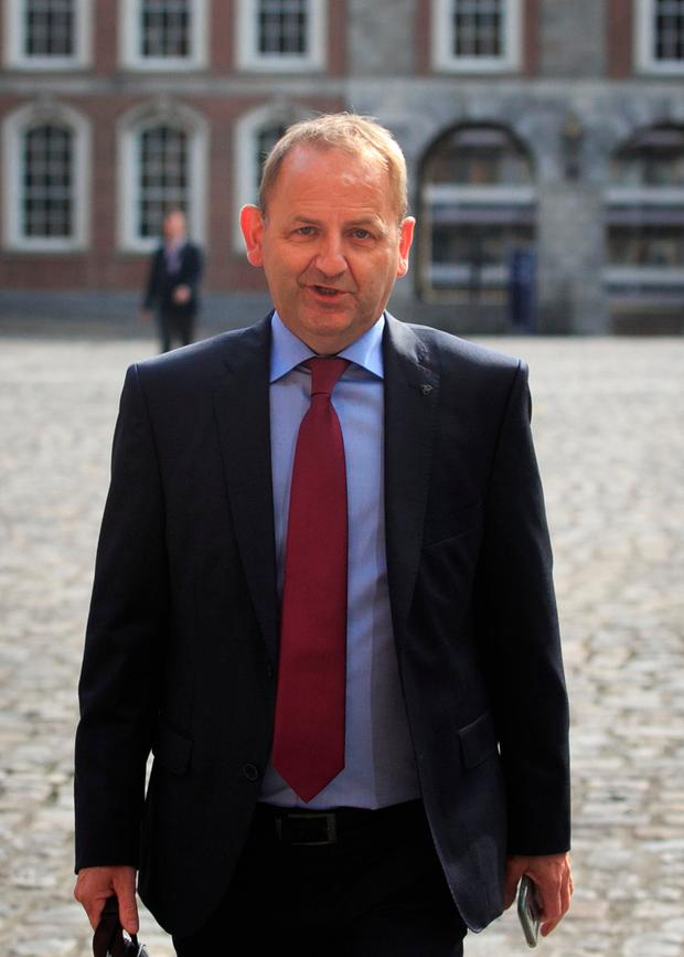 Sergeant Maurice McCabe at the Disclosures Tribunal. Photo: Collins