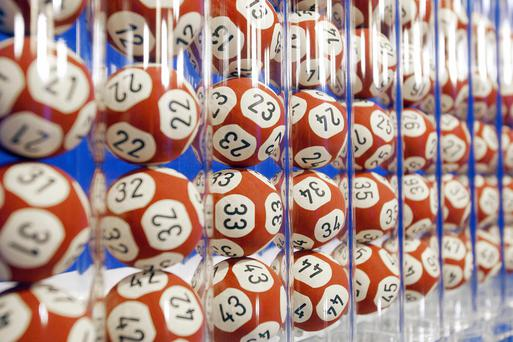 There was just one winner of the €28,975,630 jackpot. Stock Image