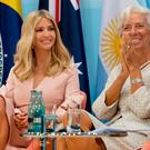 Ivanka Trump (left) and International Monetary Fund Managing Director Christine Lagarde attend the launch of the World Bank's Women's Entrepreneurship Facility Initiative on the margins of the G20 summit in Hamburg Credit: Stefan Rousseau/PA Wire