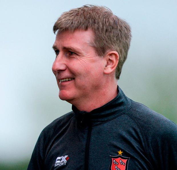 Dundalk manager Stephen Kenny. Photo: Piaras Ó Mídheach/Sportsfile