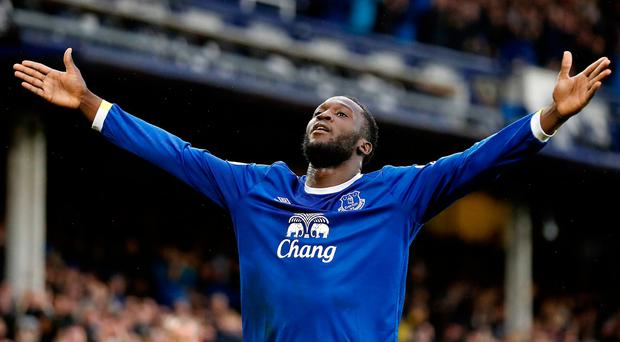 Romelu Lukaku's £75m transfer fee is a sign of the times in the English Premier League. Photo: PA