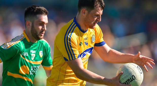Roscommon's Diarmuid Murtagh in action during the Connacht SFC semi-final victory over Leitrim. Photo: Sportsfile