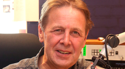 Tuned in: Ian Dempsey insists he is glad he left RTE Photo: Damien Eagers