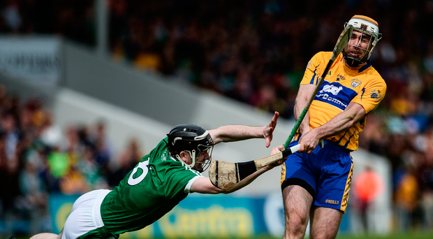 Conor McGrath, pictured here in action against Limerick, feels there is more to prove for his team. Photo: Diarmuid Greene/Sportsfile