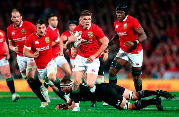 Could we see future Lions tours without English players like Owen Farrell?