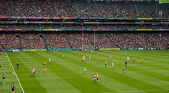 A general view of the crowd at last week's Leinster hurling final