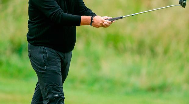 Shane Lowry of Ireland on the final day of the Irish Open