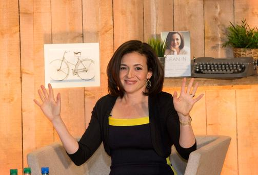 Facebook chief operating officer Sheryl Sandberg... 'although she is a billionaire, her tragedy is an ordinary one'. Photo: Mark Condren