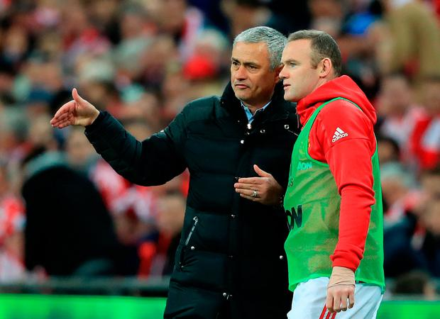 """Mourinho: """"It is no secret that I have long been an admirer of Wayne."""" Photo credit: Adam Davy/PA Wire."""