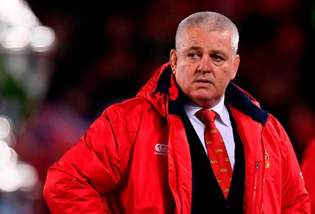 British and Irish Lions head coach Warren Gatland. Photo: Stephen McCarthy/Sportsfile