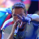 Coldplay's Chris Martin. Picture: AP