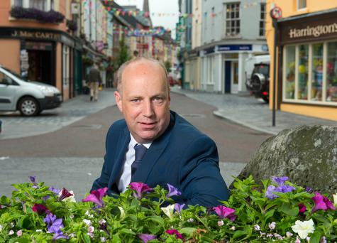 Jim Daly, Minister of State at the Department of Health, in Clonakilty, Co Cork. Photo: Michael MacSweeney