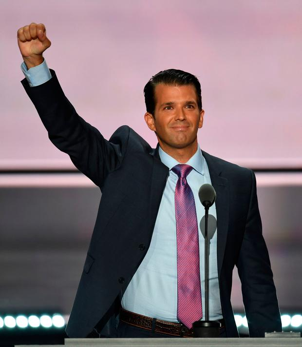 The New York Times reported Donald Trump Jr., son-in-law Jared Kushner and then-Trump campaign chairman Paul Manafort met in New York in June 2016 with a Russian lawyer with Kremlin connections
