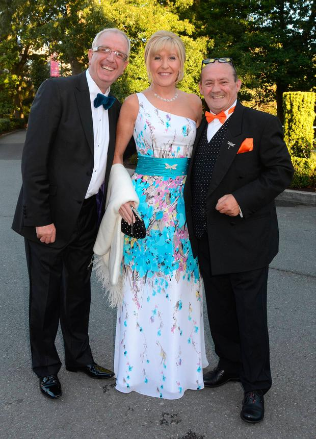 Rory Cowan with Jenny O'Carroll and Brendan O'Carroll